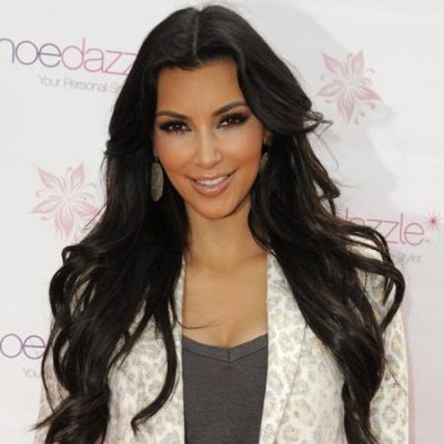 Kim Kardashian helps to celebrate Shoedazzle's first birthday, Florida. USA