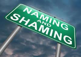 name shame