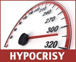 hypocrisy