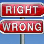 On Moral Absolutes and Discerning Right from Wrong