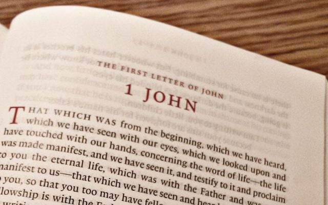 Bible Study Helps: The Epistles of John   CultureWatch