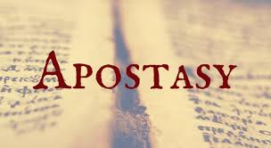 This is What Apostasy Looks Like - CultureWatch