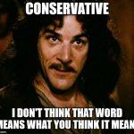 Conservatives? What Conservatives?